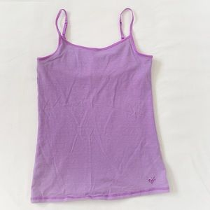 ★ JUSTICE | LAVENDER PURPLE TANK TOP W/SUPPORT